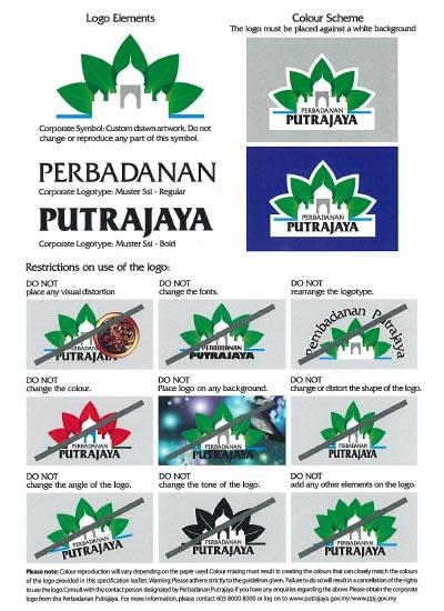 Perbadanan Putrajaya Logo Guide