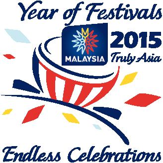 Logo Malaysia Year of Festivals 2015
