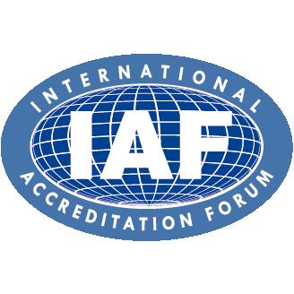Logo International Accreditation Forum - IAF