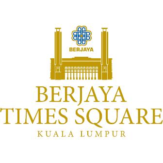 Logo Berjaya Times Square Kuala Lumpur
