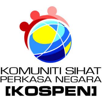 Logo Komuniti Sihat Perkasa Negara - KOSPEN