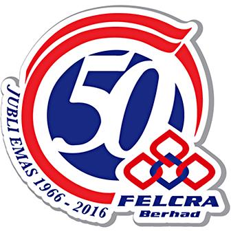 Logo 50 Tahun FELCRA