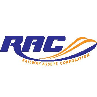 Logo Perbadanan Aset Keretapi - RAC