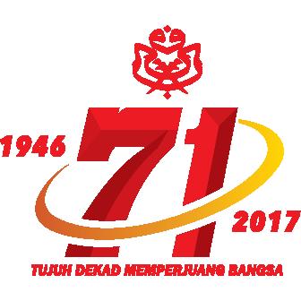 Logo UMNO 71 Tahun 1946-2017