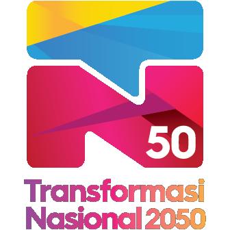 Logo Transformasi Nasional 2050 - TN50 color