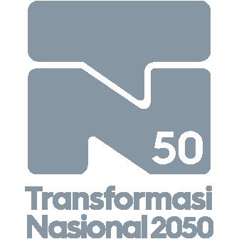 Logo Transformasi Nasional 2050 - TN50 grey