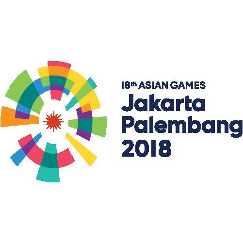 Logo 18th Asian Games - Jakarta Palembang 2018