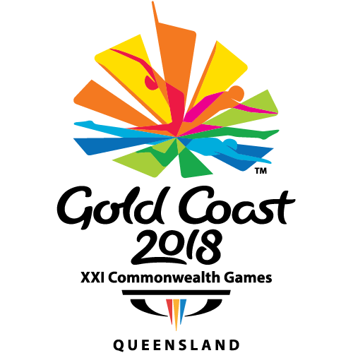 Logo XXI Commonwealth Games - Gold Coast 2018 Queensland