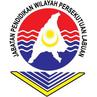 Logo Jabatan Pendidikan Wilayah Persekutuan Labuan - JPWPL