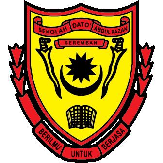 Logo Sek Dato Abdul Razak, Seremban - SDAR