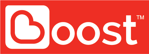 Logo Boost e-Wallet red