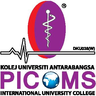 Logo Kolej Universiti Antarabangsa PICOMS