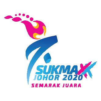 Logo SUKMA XX Johor 2020