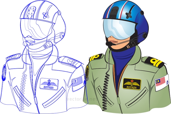 Air Crew Illustration
