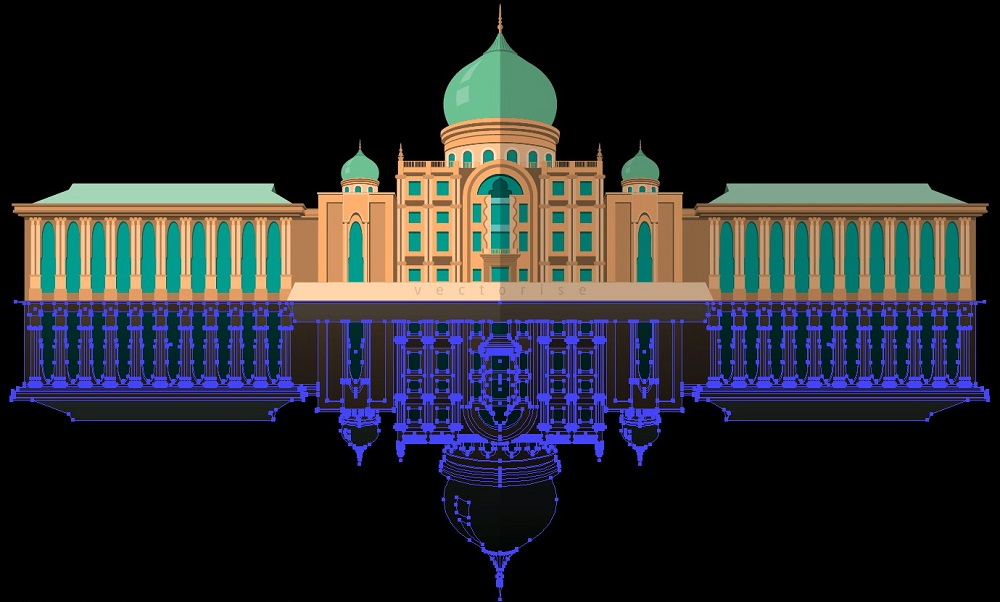 Building Illustration - Putra Perdana