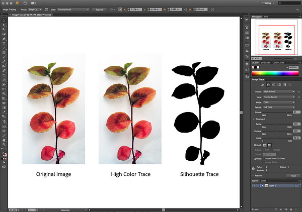 Adobe Illustrator CS6 screenshot