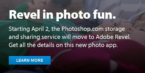 Photosho.com to Adobe Revel
