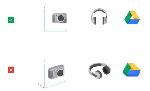Design Principle - Front Facing