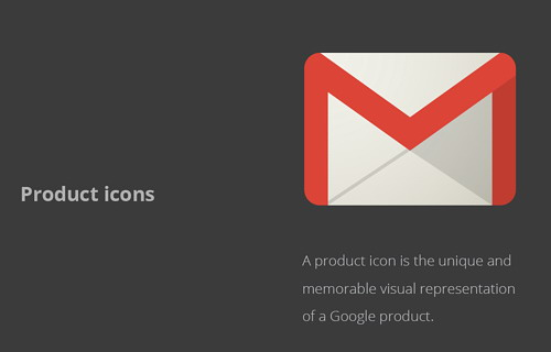 Gmail icon design