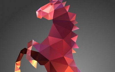 Triangle Polygon Vector Illustrations