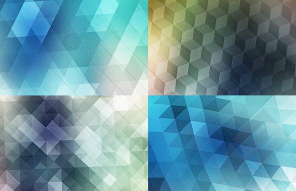 triangle mosaic patterns
