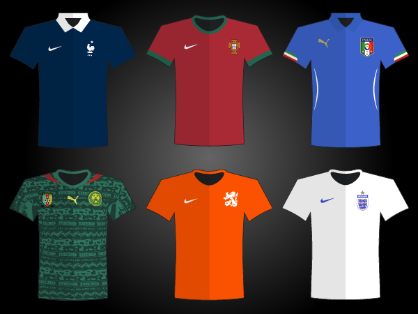 WorldCup 2014 Jersey Vector