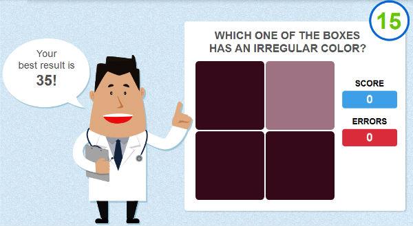 Eye Test Color