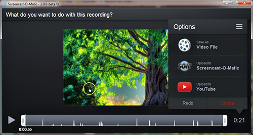 Screencast-O-Matic free screen recording