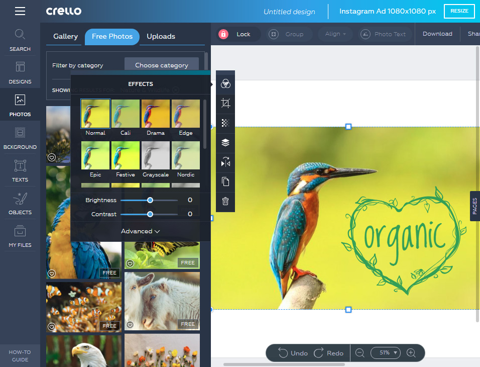 Crello Best Free Online Graphic Editor