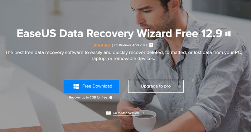 Get Lost Data With EaseUS Data Recovery Wizard
