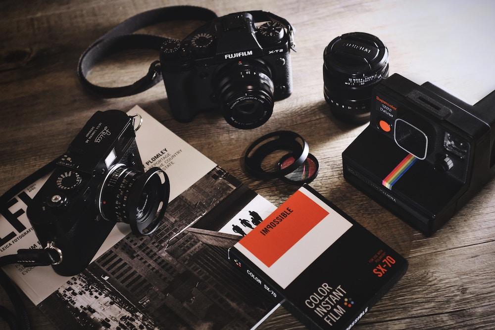Black Cameras