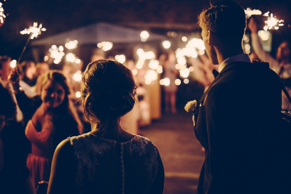 Wedding Event Photography at Night