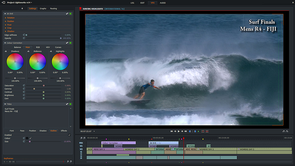 Lightworks Free Video Editing Software No Watermark