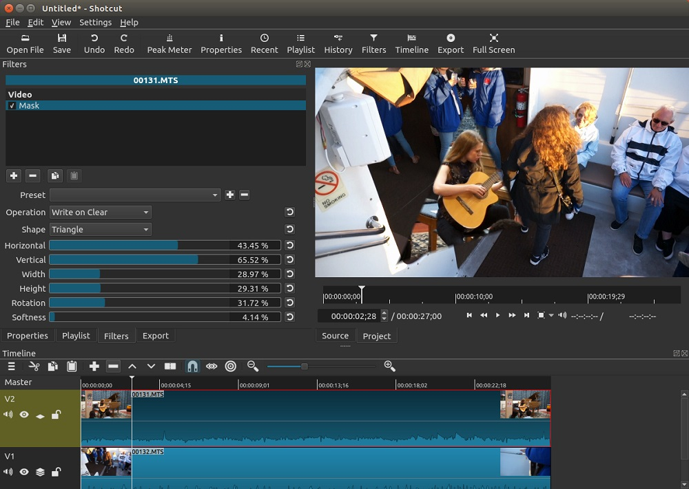 Shotcut Free Video Editing Software