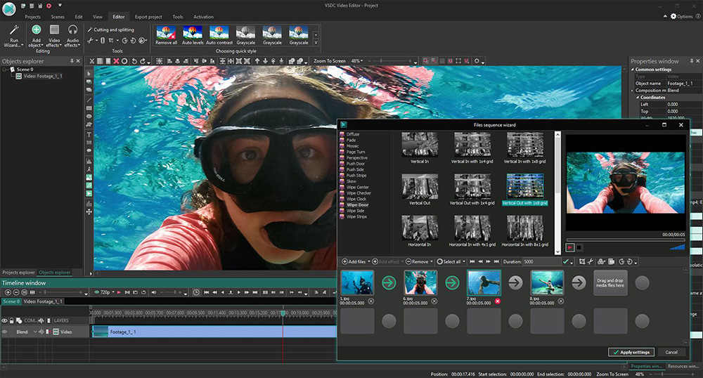 VSDC Free Video Editing Software No Watermark