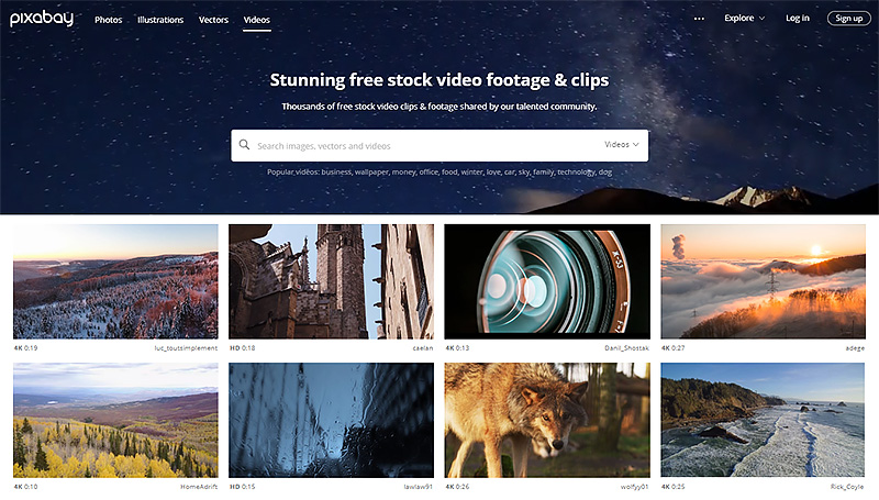 Free Videos by Pixabay