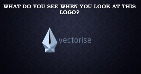 What you see in a logo