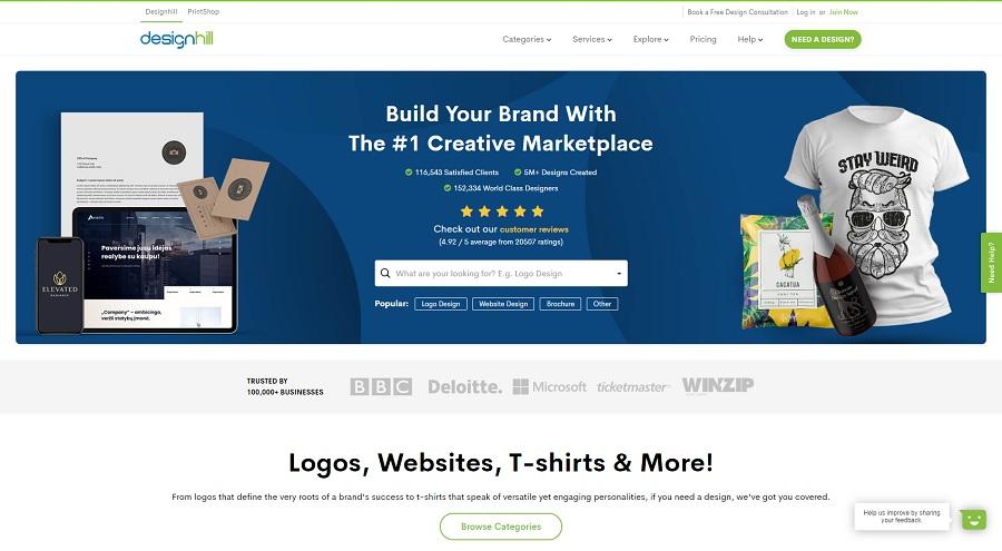 Crowdsourcing Platform Designhill