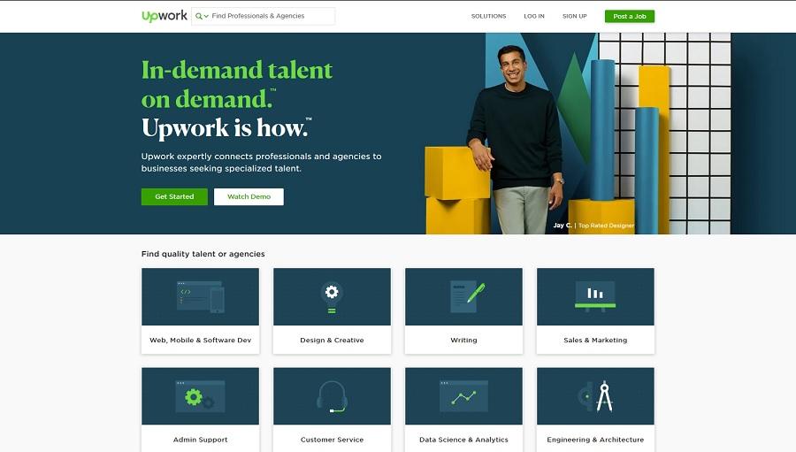 Crowdsourcing Platform Upwork